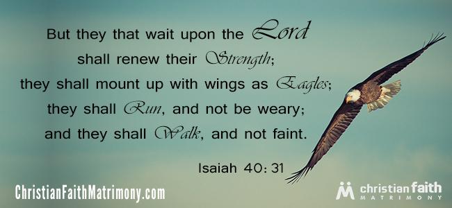 Isaiah 40:31 Bible Verse