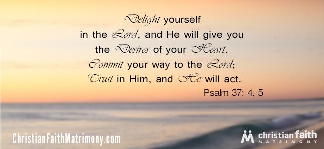 Psalm 37:4, 5 Bible Verse
