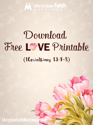 Download Free Love Printable